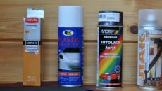 Краски для пластика: составы и цвета