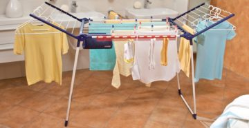 Напольные сушилки для белья: разнообразие форм и конструкций