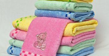 Особенности выбора детских полотенец