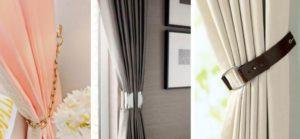 Как выбрать зажимы для штор?