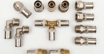 Фитинги для металлопластиковых труб: особенности применения и технология монтажа