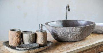 Раковины из камня: особенности использования и ухода