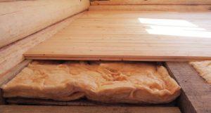 Особенности и виды устройства полов в деревянном доме