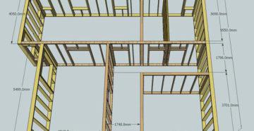 Тонкости проектирования и строительства каркасных домов размером 6 на 9