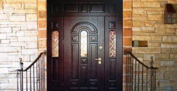 Нестандартные входные металлические двери