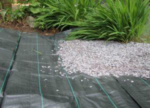 Правила подбора геотекстиля для садовых дорожек