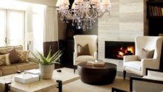 Люстры для гостиной в современном стиле