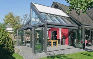 Зимние сады из алюминия: преимущества и варианты конструкций