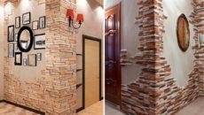 Декоративный камень для внутренней отделки: стильные идеи оформления