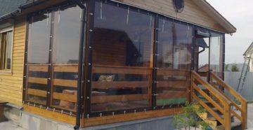 Мягкие окна из ПВХ для беседок и террас: преимущества и недостатки