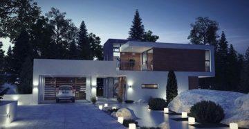 Современные дома в утонченном стиле хай-тек