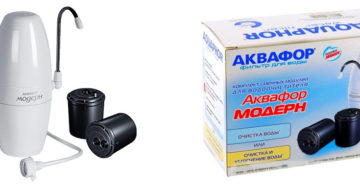 Фильтр для воды Модерн от Аквафор: особенности и рекомендации по эксплуатации