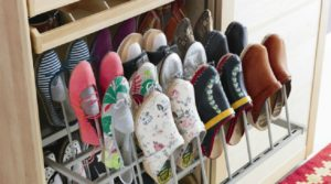 Идеи для хранения обуви в шкафу