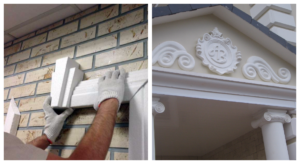 Секреты фасадного декора: разнообразие форм и материалов