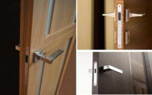 Как снять и разобрать замок межкомнатной двери?