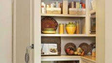Кладовка в квартире: дизайн маленькой комнаты для хранения