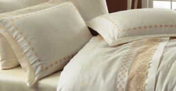 Постельное белье с вышивкой: разновидности и советы по выбору