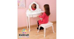 Детское трюмо с зеркалом для девочек: варианты выбора