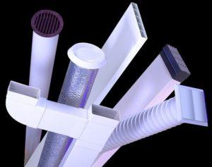 Воздуховоды для вытяжки: разновидности и установка