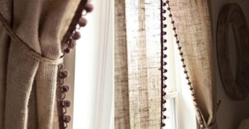 Льняные шторы: описание ткани и примеры занавесок в интерьере