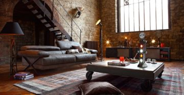 Оформляем интерьер дома в стиле лофт