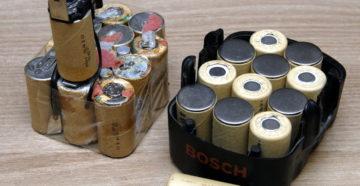Аккумуляторы для шуруповерта: виды, выбор и хранение