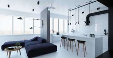 Стиль минимализм в интерьере квартиры: утонченость и аскетизм