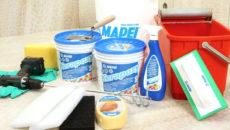 Использование строительной химии производителя Mapei