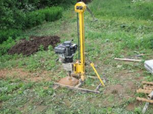 Подбираем станок для бурения скважин