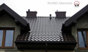 Металлочерепица Ruukki: характеристика и достоинства