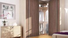 Угловые шкафы для спальни