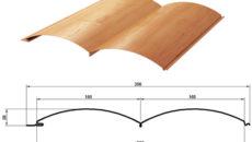 Размеры доски сайдинга блок-хаус