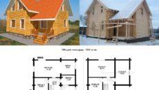 Дом из бруса: расчет материала и тонкости сооружения
