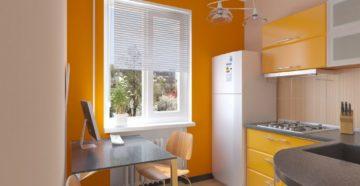 В какой цветовой гамме оформить кухню в хрущевке?