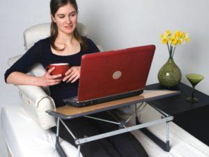 Придиванный столик для ноутбука складной аппараты для миостимуляции и вакуумного массажа