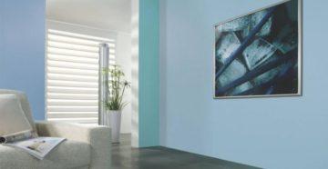Стеклообои под покраску в дизайне интерьера