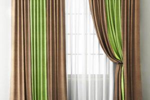 Тюль и шторы: эффектные сочетания
