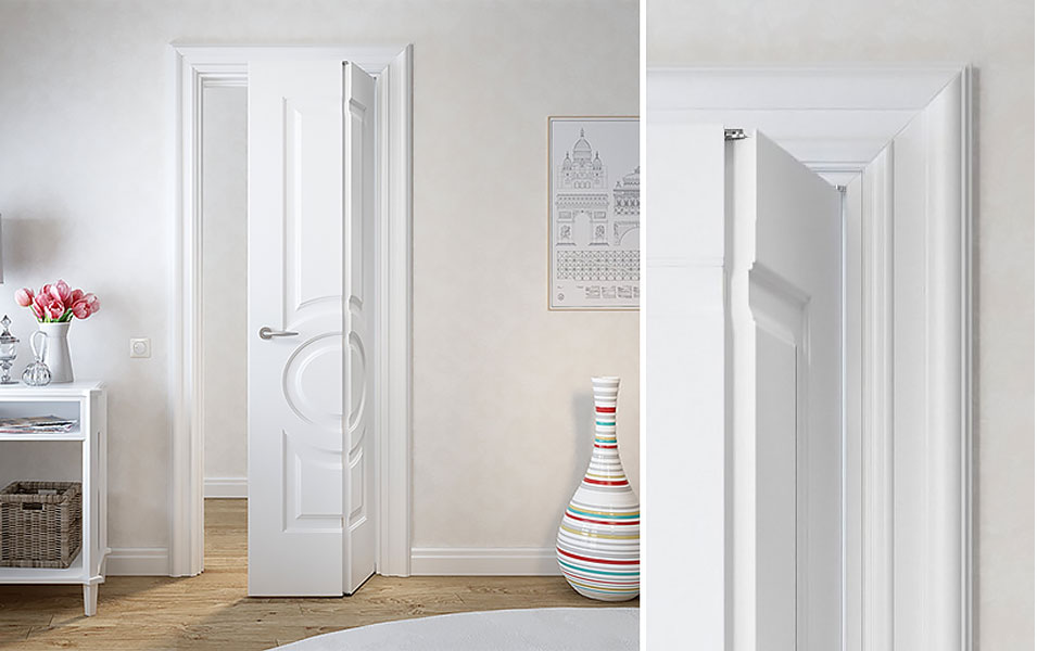 купить складные двери межкомнатные