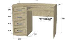 Рекомендации по выбору письменного стола с тумбой