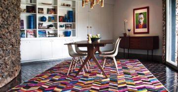 Модные ковры в современном стиле