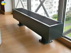 Напольные радиаторы отопления: типы устройств, достоинства и варианты крепления