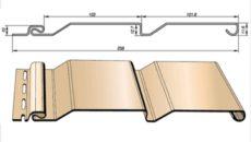 Размеры винилового сайдинга