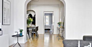 Межкомнатные арки из гипсокартона: стильное решение в интерьере