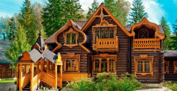 Дома в русском стиле: особенности архитектуры и дизайна
