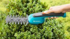 Садовые аккумуляторные ножницы: особенности и тонкости выбора