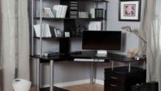 Компьютерные столы со стеллажом: виды и правила выбора