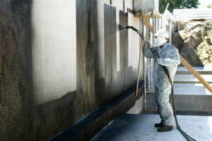 Принцип проведения гидроизоляции бетона