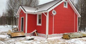 Особенности каркасных домов для зимнего проживания
