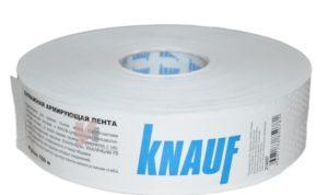 Армирующие ленты для гипсокартона Knauf: виды и их характеристики