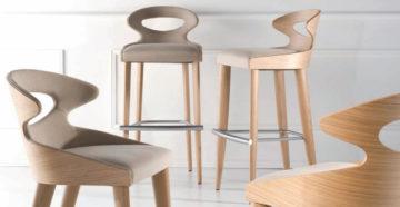 Как выбрать полубарные стулья?